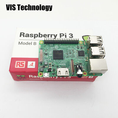 Raspberry Pi 3 Model B RS 1GB LPDDR2 BCM2837 Quad-Core Ras PI3 B  made in UK