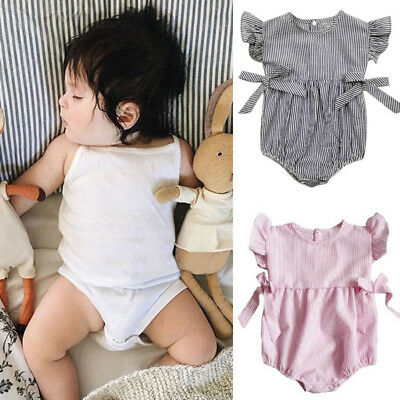 Newborn Infant Baby Boys Girls Romper Jumpsuit Outfits Clothes Playsuit Bodysuit