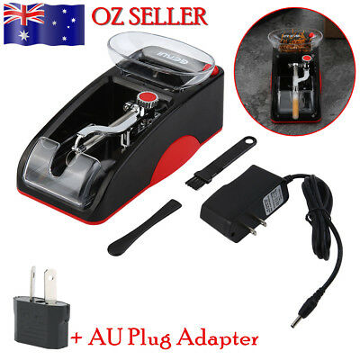 AU_Mini Automatic Cigarette Rolling Machine Electric Automatic Tobacco Roller