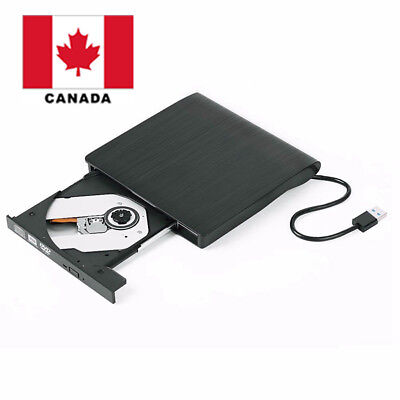 External DVD Drive USB 3.0 Slim Portable Writer/Burner/Rewriter/CD ROM Drive CA
