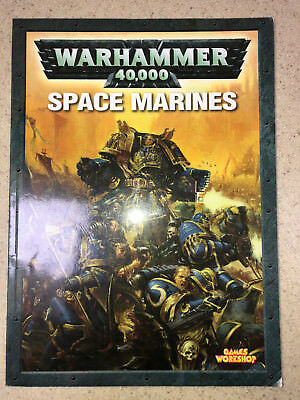 Warhammer 40000 40k Codex Space Marines 5th Ed softcovver decent cond 318