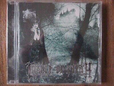 Cradle of Filth- Dusk and her Embrace CD - new and sealed.