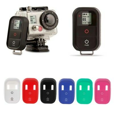 Portable Remote Control Silicone Protective Case Cover for GoPro Hero 3/3+ 4 1PC