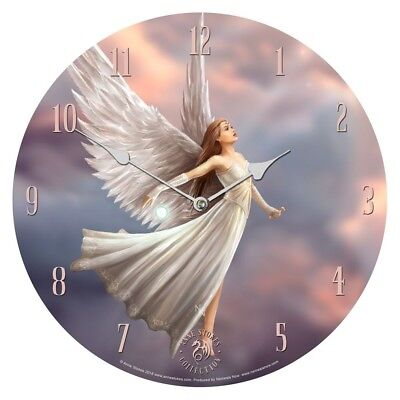 Stunning New Release ~ Ascendance ~ Wall Clock ~ Anne Stokes ~ Nemesis Now