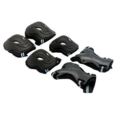 Adult Skating Protective Gear Safety Adult Kids Knee Elbow Pads 6 Set Unisex