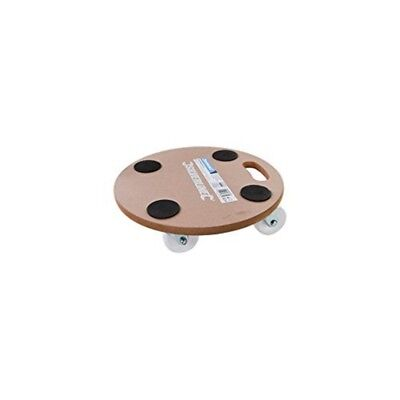 Silverline 739663 Round Platform Dolly250kg - Durable Strong Mdf Dolly Load