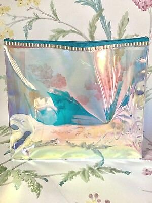 Tili Exclusive Branded Holographic Make Up Cosmetic Bag ~ Fast Delivery!