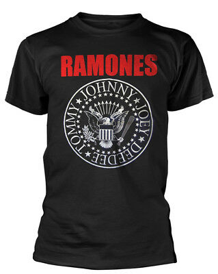 Ramones 'Red Logo Presidential Seal' T-Shirt - NEW & OFFICIAL!