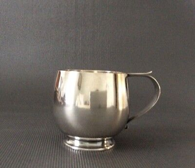 Solid Sterling Silver Mid Century Modern Cup / Child's Cup / 86g