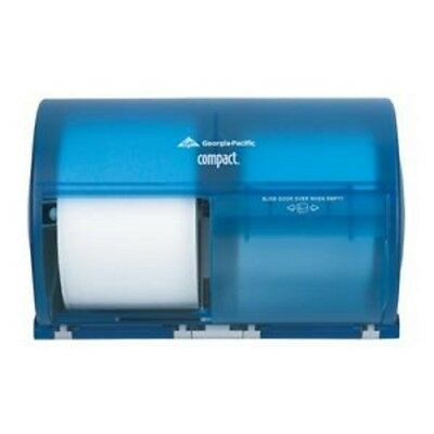 Georgia Pacific 56783 Toilet Paper Dispenser Commercial-Grade Blue Compact (P15)