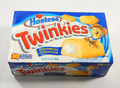 2012 Hostess Twinkies Full Unopened Box of 10 ^ Before Bankruptcy Filing