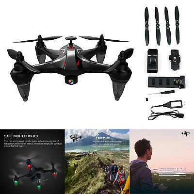 GW198 Drone Quadcopter Brushless Motor 5G WiFi GPS 1080P HD RC Remote Control