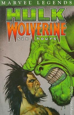 Hulk/Wolverine Six Hours TPB (Marvel Legends) #1-1ST 2003 VF Stock Image