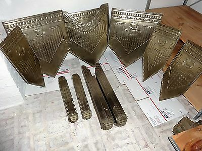 Park Ave Waldorf Astoria Bronze Marquee NEW YORK CITY ART DECO ICON
