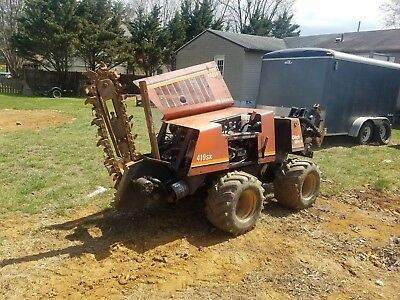 DITCH WITCH 410SX Vibratory Plow Trencher Bore 255sx