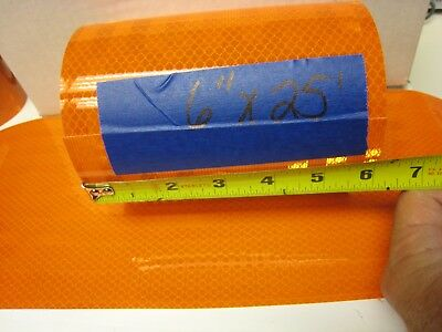 """6"""" x 25'  Roll  All ORANGE   REFLECTIVE CONSPICUITY TAPE"""