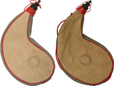 Traditional Goatskin Wine Bota Bag, Tan Spanish Leather Wineskin Beige Canteen