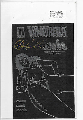 Vampirella Hell On Earth 1998 Limited Signed Ashcan Convention Special NM-
