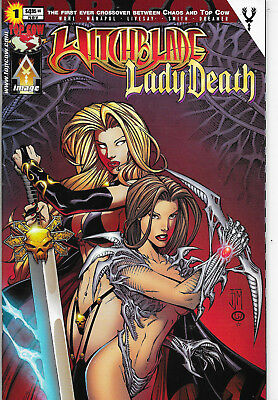 Witchblade Lady Death #1 Top Cow Comics David Wohl NM-