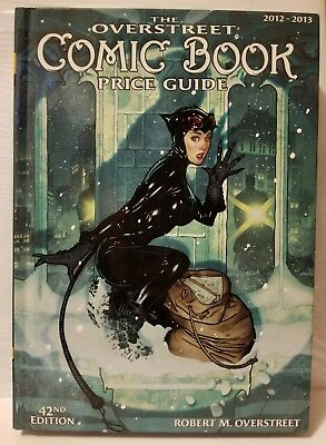 OVERSTREET COMIC BOOK PRICE GUIDE 42nd Edition: 2012-2013 ADAM HUGHES! HARDCOVER