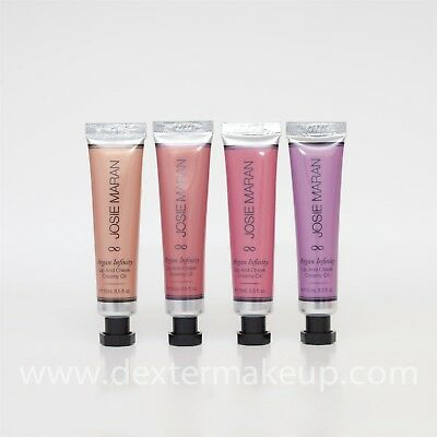 Josie Maran Argan Infinity Lip & Cheek Creamy Oil Set (Honey/Pink/Rose/Violet)