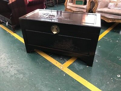 Chinese Oriental Camphorwood Chest