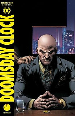 Doomsday Clock #2 Frank Variant Dc Comics Near Mint 12/27/17