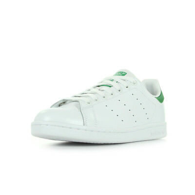 Blanc Lacets Smith Chaussures Stan Cuir Blanche Homme Baskets Adidas Taille QrCWdoxBe