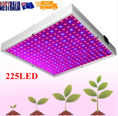 Led 225 Grow Light Panel Blue/red Lamp Bulb For Hydroponics Indoor Plant Grow