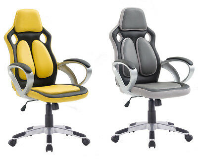 Home Luxury Leather Executive Gaming Office Chair Massage Computer Chair
