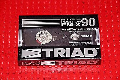 Triad  Em-X   90  Blank Cassette Tape (Sealed)