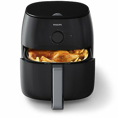 Philips Heissluftfritteuse HD9630/90 Airfryer XXL Twin TurboStar, 2225 W, 1,4 Kg