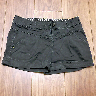 Girls Black Next Shorts - 11 Years - Good Condition