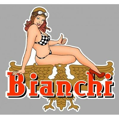 BIANCHI Pin up right/droite Sticker °