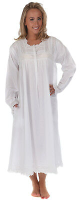 """4XL 100/% Cotton Dressing Gown Rosalind /""""VR/"""" Sizes S Housecoat"""