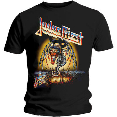 Judas Priest 'Touch Of Evil' T-Shirt - NEW & OFFICIAL!