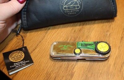Franklin Mint collector John Deere Knives