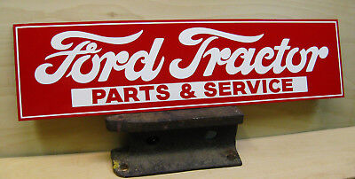 FORD TRACTOR Parts & Service__ Vintage Style Custom HAND PAINTED Sign / Art
