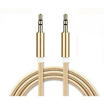 Top Quality STRONG 1.2 Meter 3.5 mm Jack Male to male plug Cable  Audio Lead