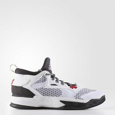 outlet store 316c9 a9400 adidas Damian D Lillard 2 2.0 NBA Mens Basketball Shoes White - B54171