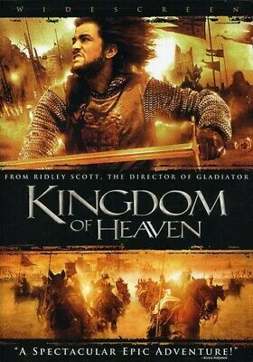 Kingdom of Heaven (DVD, 2005, 2-Disc Set, Widescreen) Like New