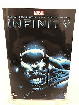 Infinity Collects #1-6 & New Avengers #7-12 Marvel TPB Trade Paperback Brand New