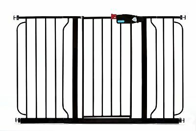 Regalo Easy Step Extra Wide Black Baby Gate
