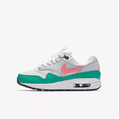 """New Nike Youth Air Max 1 (GS) Shoes (807602-105)  """"Watermelon"""""""