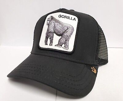 5605b3c2050e7 Goorin Bros Bold Hatmakers 101-0333 King of the jungle Snap-Back Trucker Hat