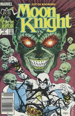 Moon Knight (2nd Series) Fist of Khonshu #3 1985 VG Stock Image Low Grade