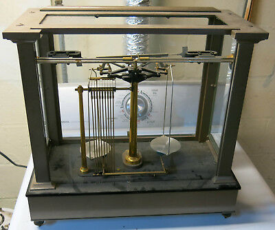 Vintage Analytical Balance for parts - Will Corporation - Ainsworth & Sons