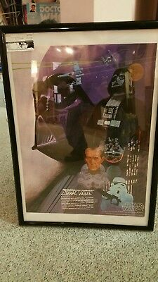 Star Wars Darth Vader 1977 Near Mint poster Burger King/Coca Cola