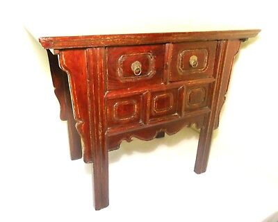 "Antique Chinese ""Butterfly"" Cabinet (2740), Circa 1800-1849"