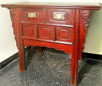 "Antique Chinese ""Butterfly"" Cabinet (2545), Circa 1800-1849"